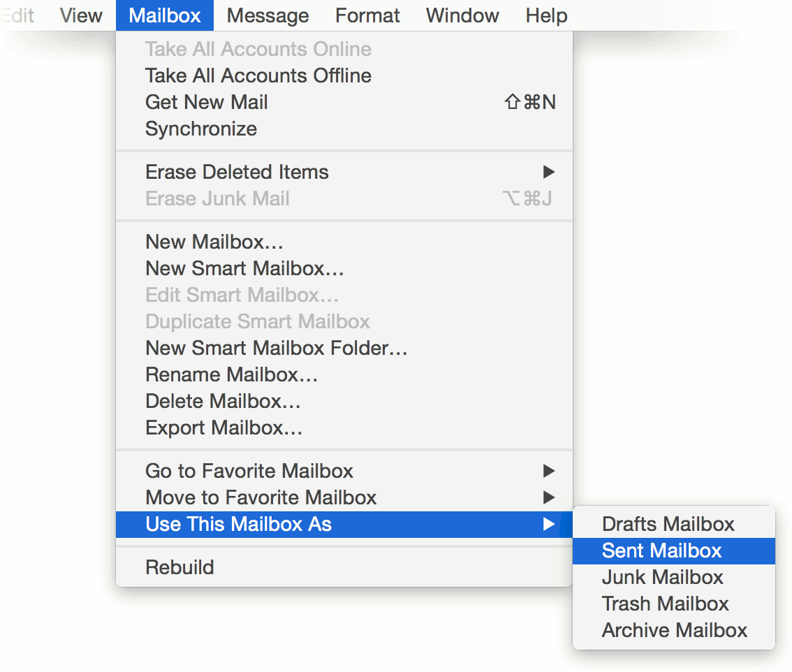 how to create folders on apple mail