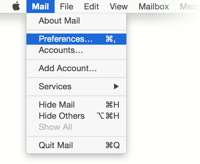 Leaving Mail on the Server with Apple Mail | Tiger