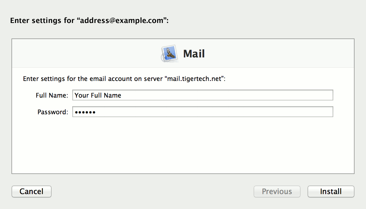 Apple Mail Profile 3